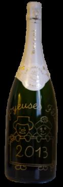 champagne magnum deco baroni