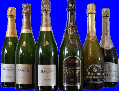 champagne Baroni pack decouverte