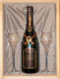 coffret Champagne Baroni 2 flutes