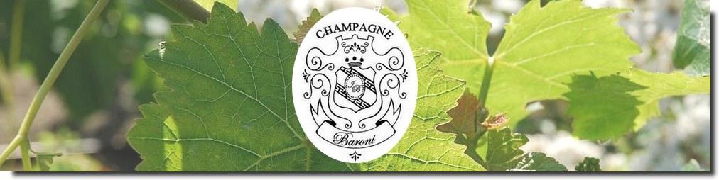 Champagne Baroni Vente en ligne Livraison Prix producteur