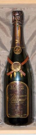 coffret Champagne Baroni Millésimé 2 flutes