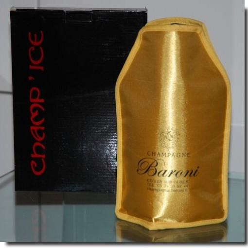 Raffraichisseur bouteille Champagne Baroni